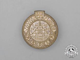 A 1930 NSDAP Saxony Regional Council Day Badge