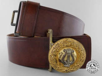 A German Private Band Member - Officer's Belt with Buckle; Published Example