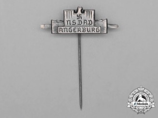 A Third Reich Period NSDAP Angerburg Celebration Stickpin