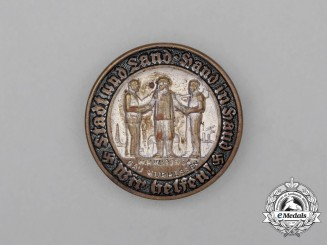 A 1933/34 WHW Kurhessen Region Donation Badge