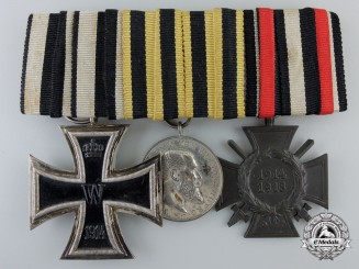 Wurttenberg. A First War Medal Bar