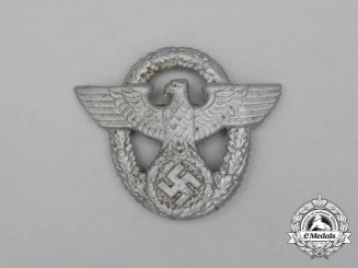 A Third Reich Period German Police Cap Eagle