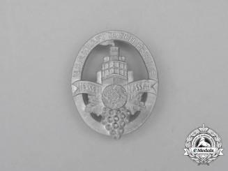 A Third Reich Period KDF Hessen-Nassau Event Badge by Wiedmann