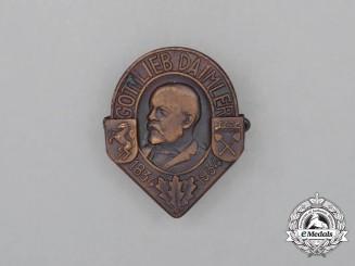 A 1834-1934 Gottlieb Daimler Celebration Badge