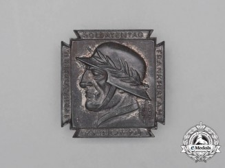 A 1934 NSKOV 1st War Casualties and Veterans Remembrance Day Badge