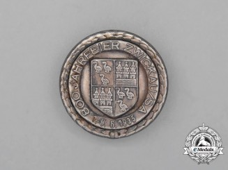 A 1935 800-Year Anniversary of Zwickau Badge
