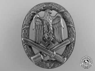 An Army/Heer General Assault Badge