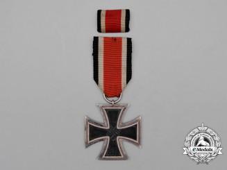 An Iron Cross 1939 Second Class by Klein & Quenzer of Lüdenscheid with Ribbon Bar