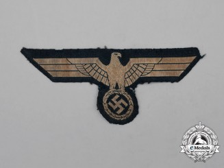 A Wehrmacht Heer (Army) Breast Eagle; Uniform Removed