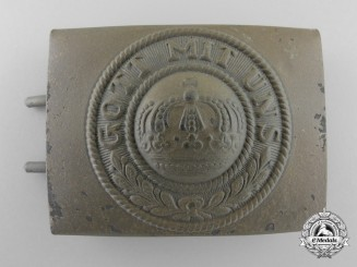 A German Imperial Army (Heer) Belt Buckle; Tropical