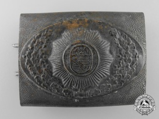 A Saxony Miner's Belt Buckle
