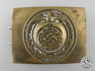 Germany, SA. An EM Belt Buckle