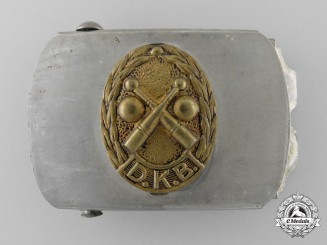 A German Kegler and Bowling Federation  Belt Buckle