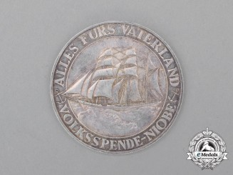 A 1932 Donation Coin For the Sinking of the Training Vessel Niobe
