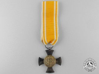 A Prussian General Service Cross; Type V (1900-1918)