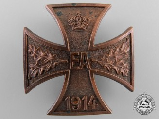A First War Brunswick-Ernst-August Cross; First Class