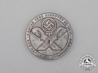 A 1935 South Hannover-Braunschweig Regional Council Day Badge