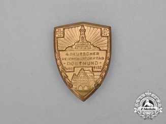 A 1932 Kyffhäuser League 4th National Day of Veterans Badge