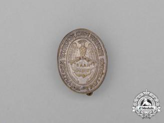 """A Saar Region Westmark Trutzbund """"Return to the Reich"""" Celebration Badge"""