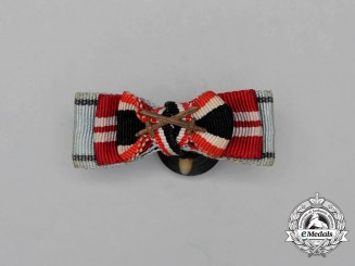 A Second War German Boutonniere Finish Medal Ribbon Grouping