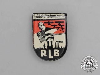 An Early Third Reich German RLB (Air Raid Protection League) Awareness Badge