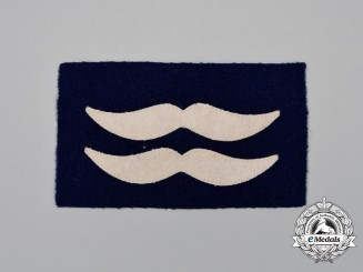 A Mint and Unissued Luftwaffe Unterfeldwebel Sleeve Rank Patch