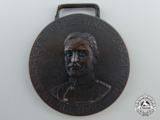 An American Troops in France Commemorative Medal 1917-1918