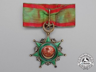 A Turkish Order of Osmania (Osmanli); 3rd ClassCommander