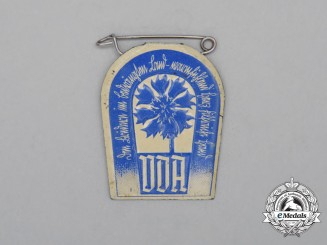 A Third Reich Period DDA Donation Badge