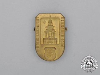 A 1936 District Heilbronn Music Festival Badge