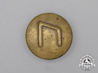 "A Third Reich Period German ""Wild Ox"" Rune Badge"