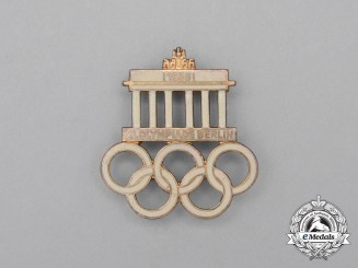A 1936 XI Summer Olympics Games in Berlin Pin by Hermann Aurich