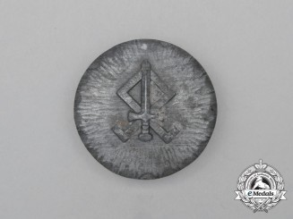 A Third Reich Period Odal Rune Badge