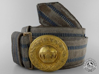 A Bavarian Officer's Brocade with Buckle