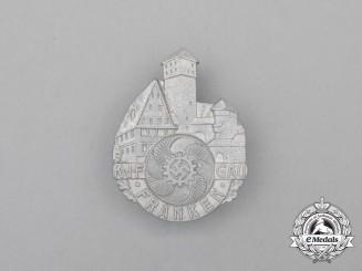 A Third Reich Period HJ Youth Hostel Ship Hein Godenwind Badge