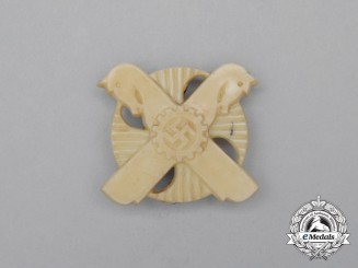 A Third Reich Period DAF (German Labour Front) Hannover Event Badge