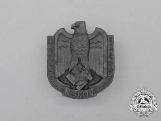 A NSKOV National Hiring Convention in Northeim Badge by Deschler & Sohn