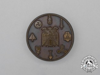 An Unknown Third Reich Period Germanic Runic Badge