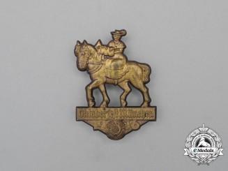 A 1936 KDF Oktoberfest in Munich Celebration Badge