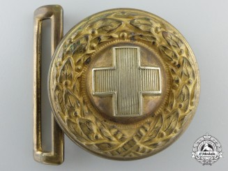 A German Red Cross 1933 Pattern Officer's Belt Buckle