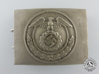 Germany, NSFK. An Early Enlisted Man' s Belt Buckle