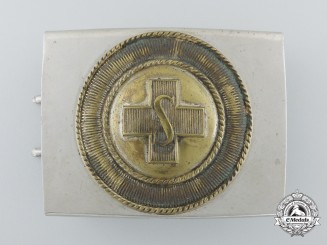 A German Worker's Samaritan League Buckle