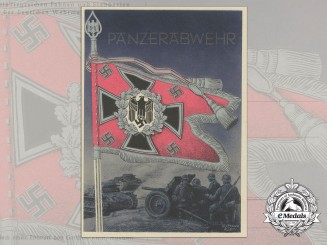 A Panzer Battalion Postcard