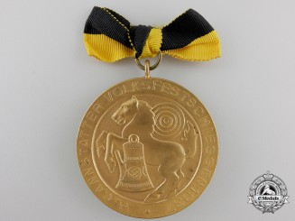 A 1937 German Shooting Medal