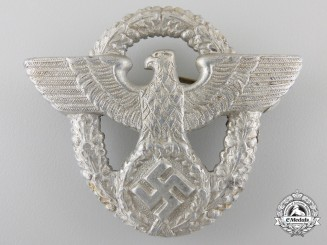 A German Police Cap Badge