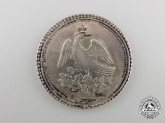An 1822 Mexican Proclamation of Emperor Agustin I Medal