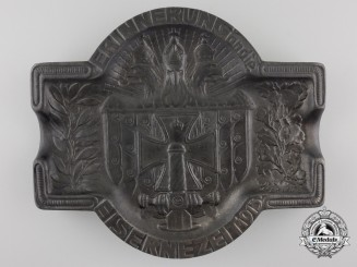 A First War German Veterans Association Tray 1915