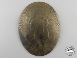 United Kingdom. A Possibly Unique South American Rangers Cross Belt Plate