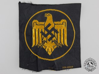 A National Socialist League of the Reich for Physical Exercise (NSRL) Patch