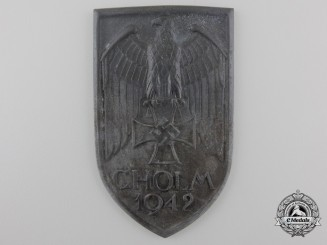 A Scarce Cholm Campaign Shield